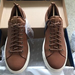 Polo Ralph Lauren Dunovin Brown Leather